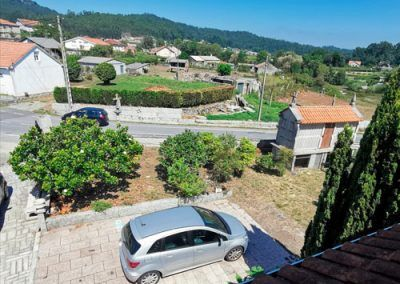Vista desde terraza Buhardilla